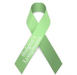 Hodgkins Lymphoma Awareness Ribbon