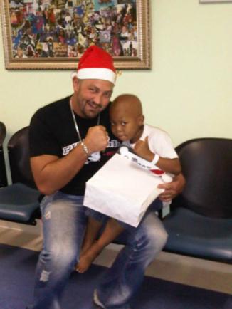 Steve Biko Hospital Christmas 2013