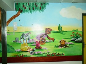 Tygerberg Children's Hospital Mural